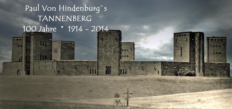 Zu den 8 Tuermen des Tannenberg Denkmals