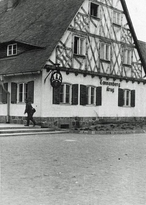 Tannenberg Krug, Gasthaus am Tannenberg Denkmal, Ostpreussen