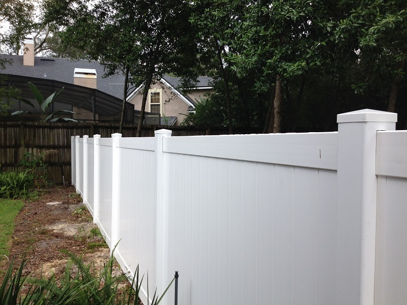Vinly (PVC) Fence Orlando