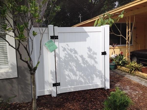 PVC (vinyl) Fence Orlando