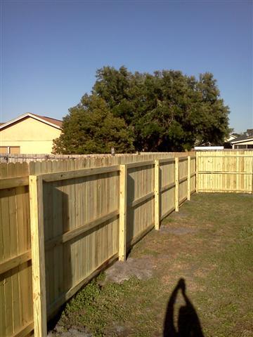 Wood Fence Repair Altamonte Springs