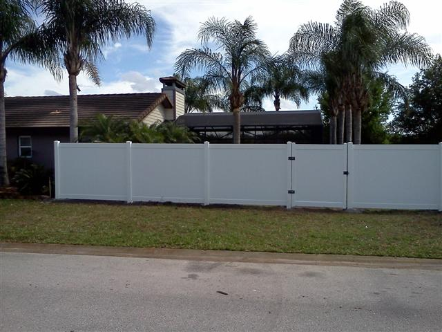 Oviedo fence repair