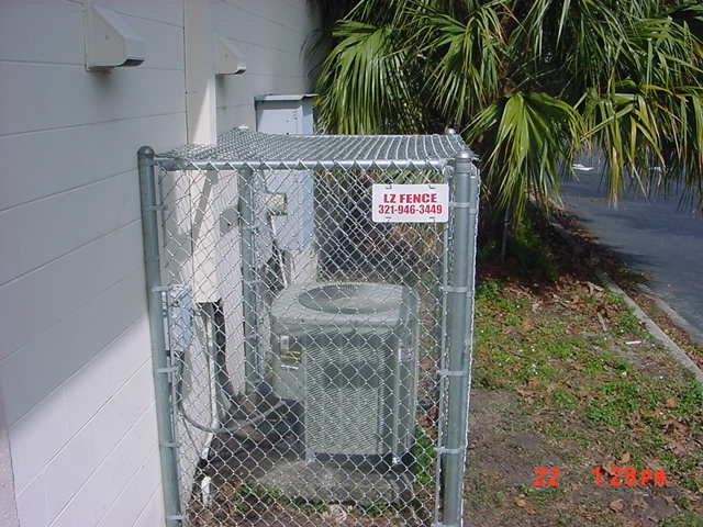 chain link fence gage