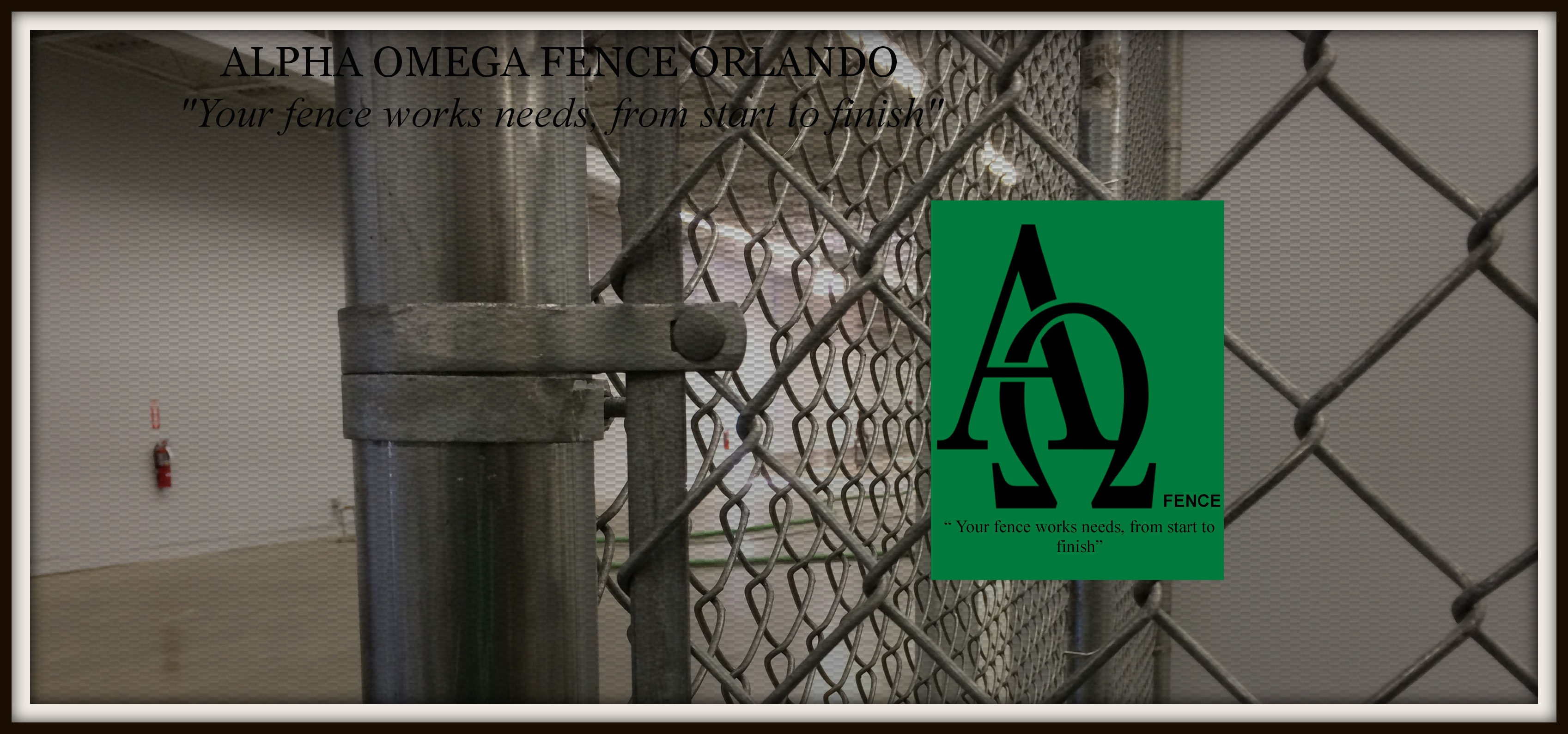 chain link fence Orlando