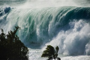 Hawaii 70-foot waves