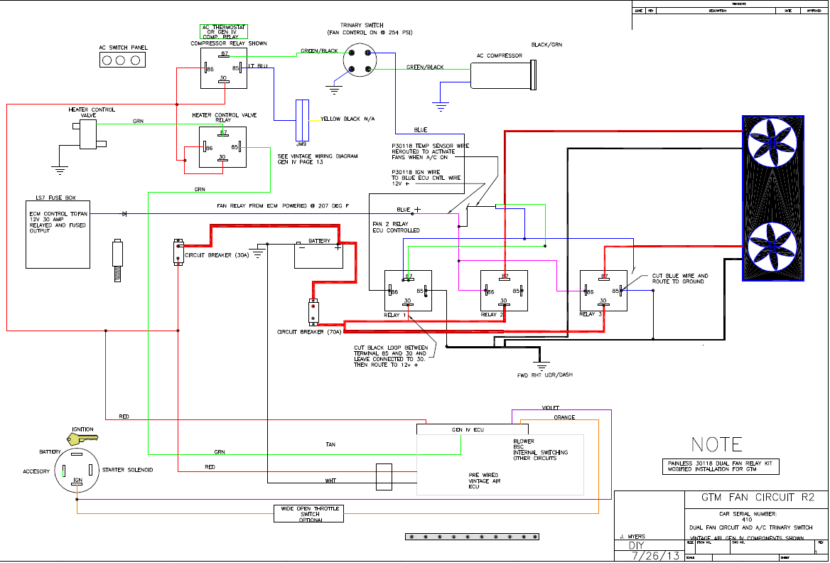 5 post relay wiring diagram with Painless Ls Wiring Diagram For Dual Fans on 1997 Ford Expedition Fuse Box Diagram further Viewtopic in addition T1256 Alternator Wiring Gto Specific together with Showthread further 4 Pin Relay Wiring Diagram Horn.