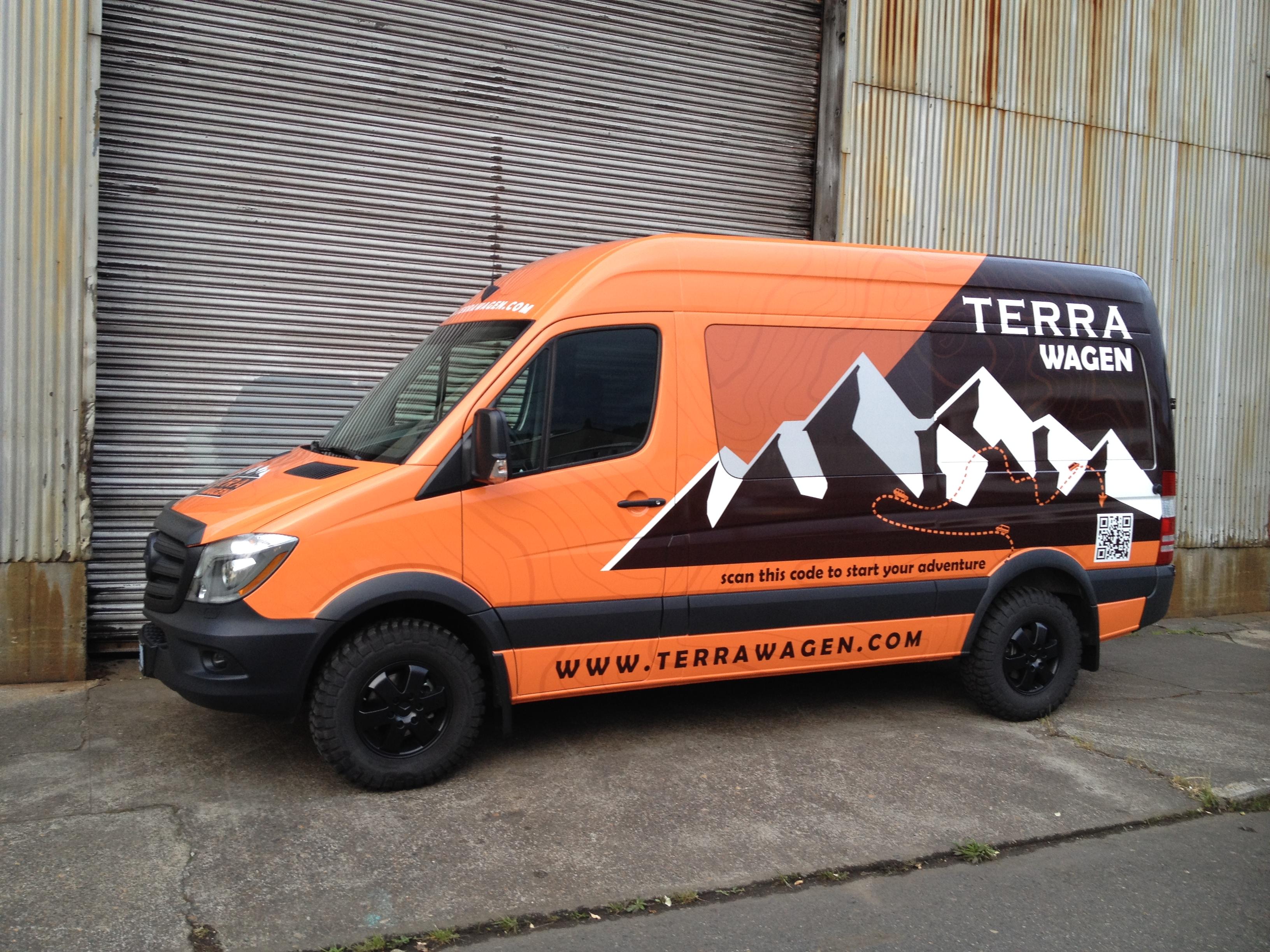 Terrawagen Sprinter flares