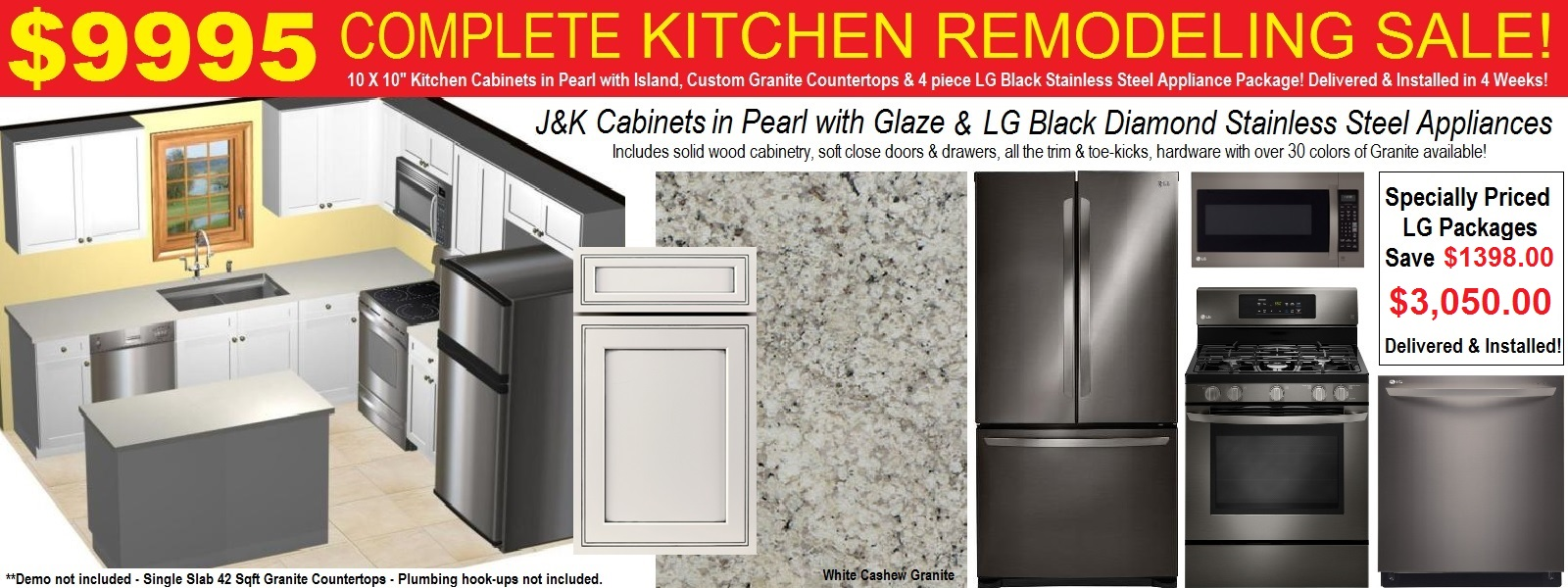 Discount Kitchen Cabinets Countertops Appliances