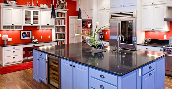 Custom Kitchen Island kitchen islands peninsulas cabinets & countertops mesa az