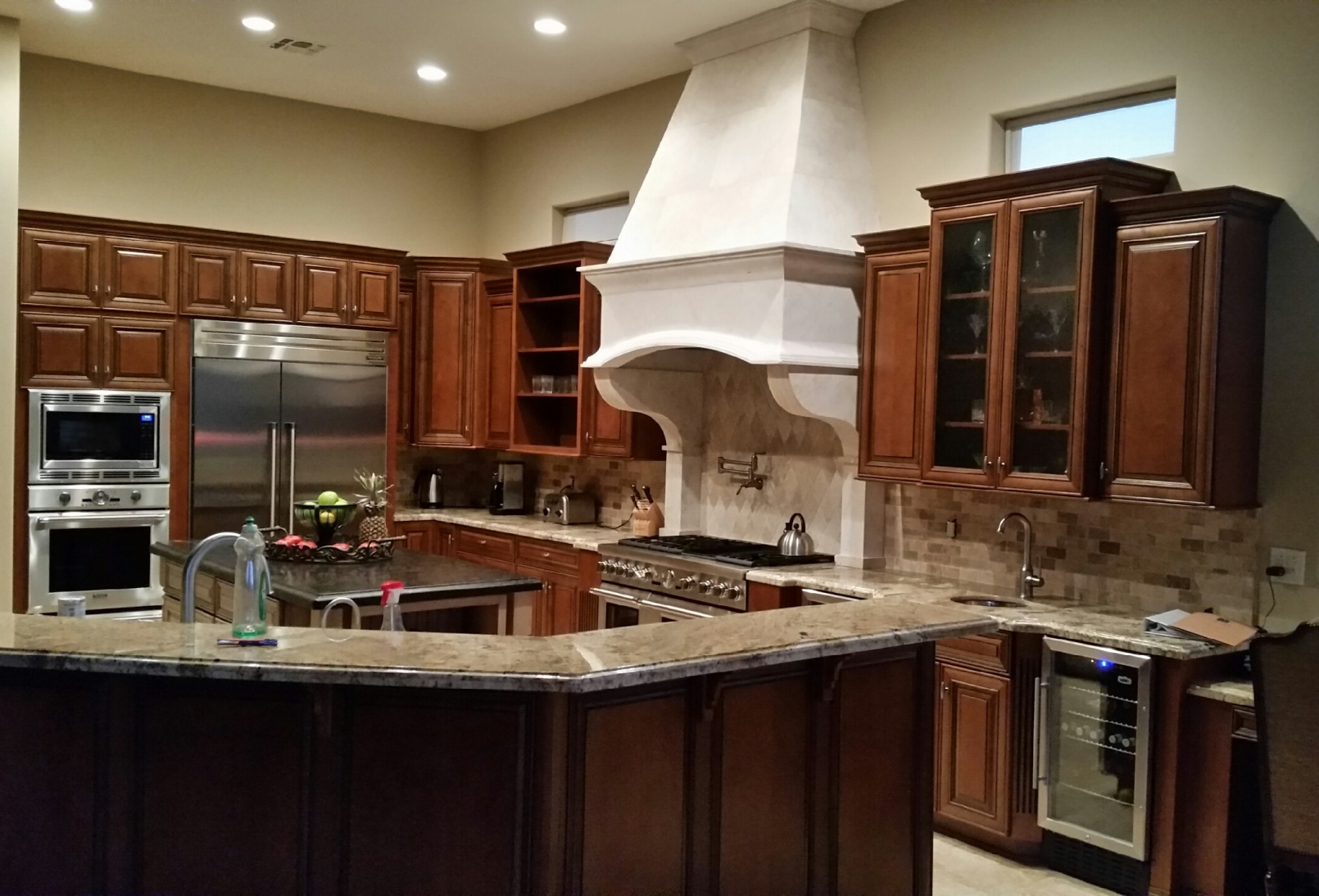 kitchen cabinets phoenix bridgewood designs dark interior