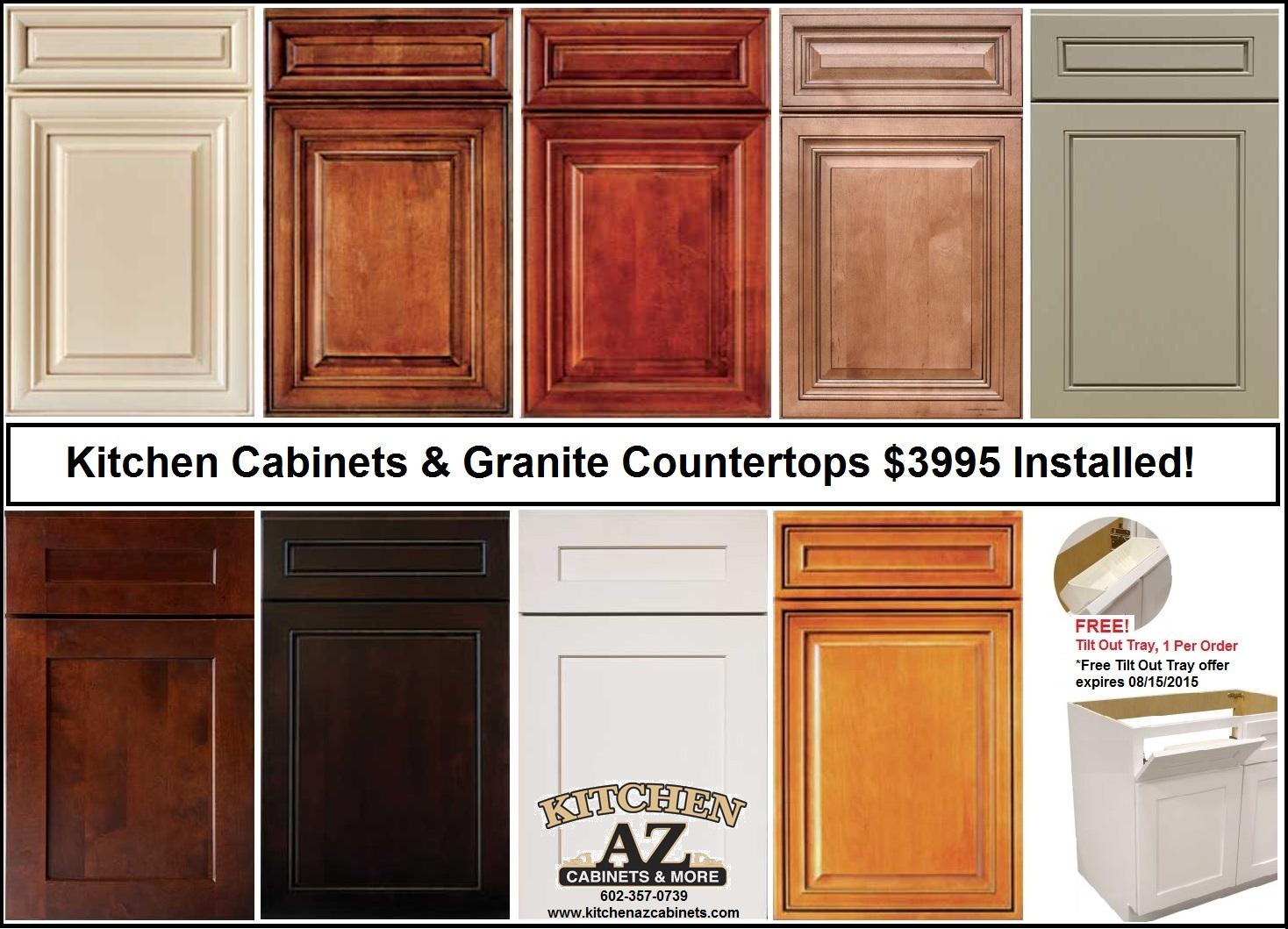 Glendale az kitchen cabinets granite countertops sale for New kitchen units for sale