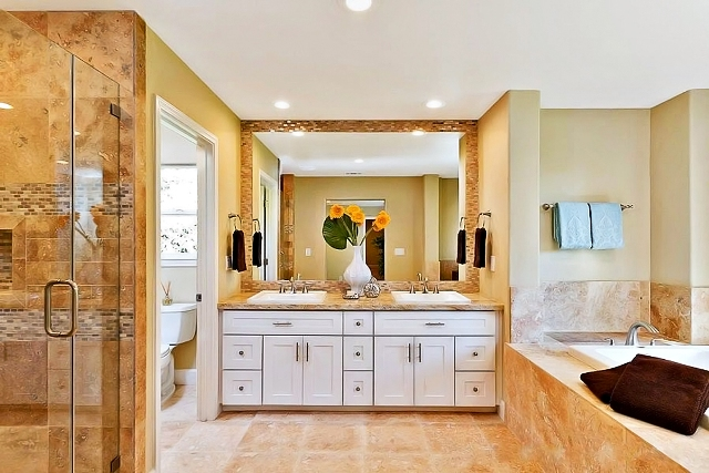 Phoenix kitchen bath cabinets home remodeling contractor - Lowes semi custom bathroom cabinets ...