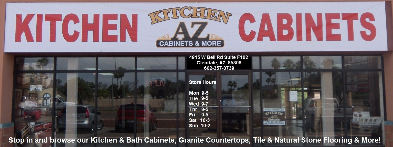 Glendale AZ kitchen Cabinets Remodeling Showroom