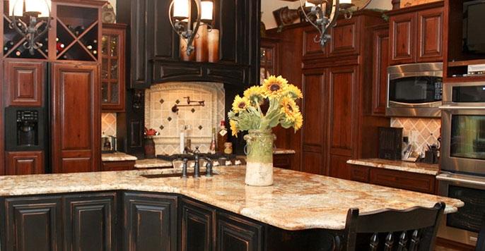 Custom Kitchen Islands Countertops Mesa AZ Remodeling Contractor