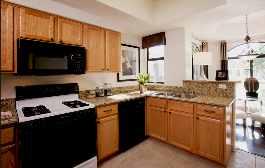 phoenix apartments kitchen cabinets remodeling contractor