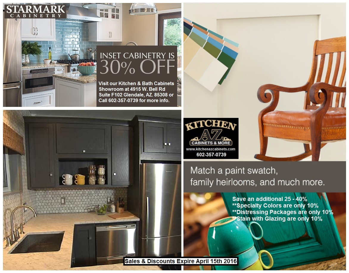 Kitchen Cabinets in Phoenix StarMark Cabinets Sale