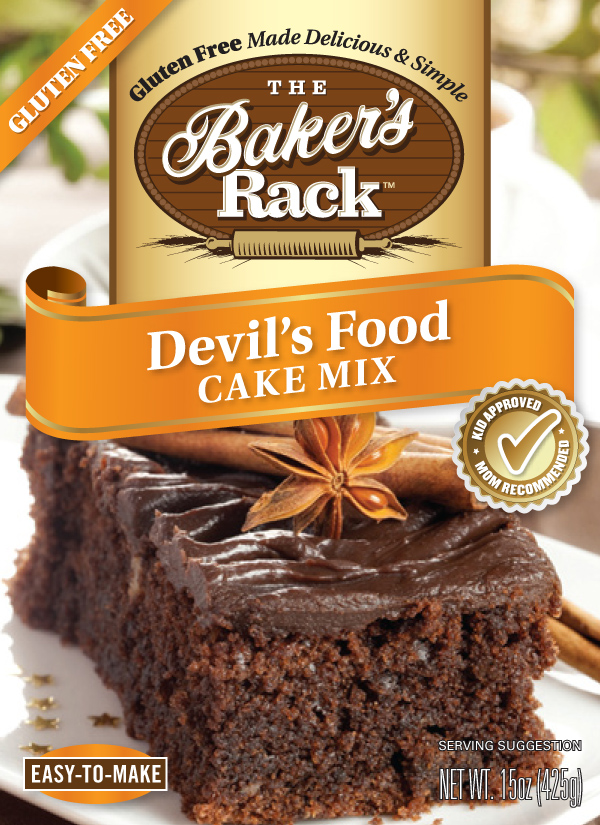Devil's Food Cake Mix: The 15-ounce package produces a rich, chocolate flavor and smooth texture which makes this cake an exceptional treat.