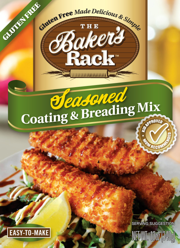 Seasoned Coating and Breading Mix: The 12-ounce reclosabpackage with Cajun spices makes a tasty coating for meat, poultry, fish and vegetables. The special blend of flavors adds a zesty zing to oven baked or deep-fried dishes.