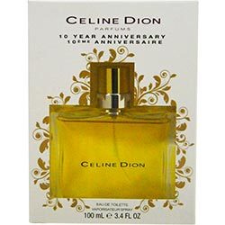 CELINE DION by Celine Dion - EDT SPRAY 3.4 OZ (10th ANNIVERSARY EDITION PACKAGING)
