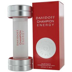 DAVIDOFF CHAMPION ENERGY by Davidoff - EDT SPRAY 3 OZ