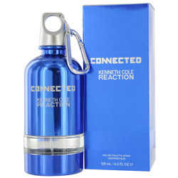 KENNETH COLE REACTION CONNECTED by Kenneth Cole - EDT SPRAY 4.2 OZ