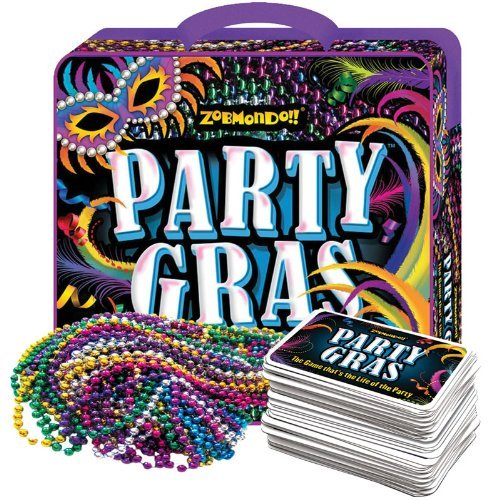 Zobmondo!! Party Gras-The Game that's the life of the Party
