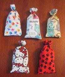 Catnip bags