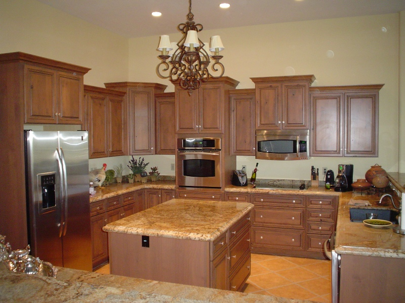 Free kitchen designs cabinets granite countertops tile for Kitchen cabinets phoenix