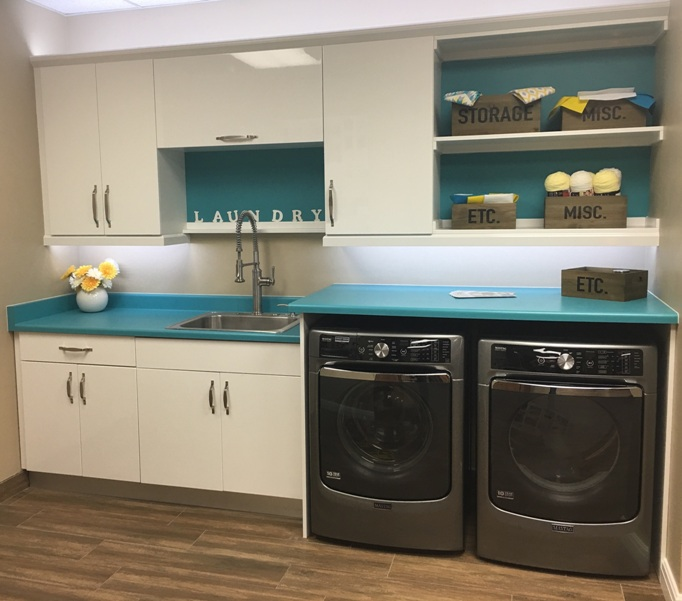 Laundry Room Cabinets & Appliances Sale