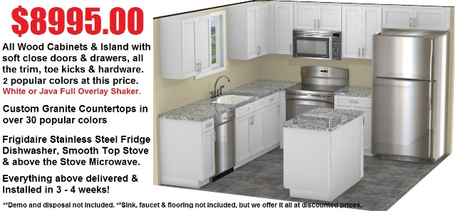 Discount Kitchen Cabinets Countertops & Appliances
